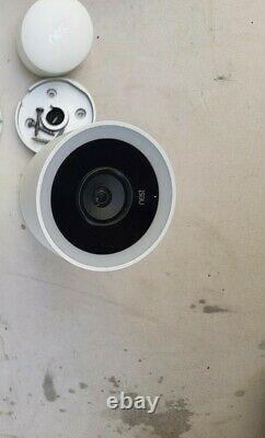Nest Cam Iq Outdoor Wireless Camera White (nc4101us)