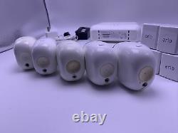 Netgear Arlo Pro (gen 1) 3 Wireless Security Cam System Et 2 Add On Cams 124a