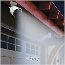 Night Owl Indoor/outdoor 4k Ultra Hd Wired Spotlight Cameras (2-pack) Blanc