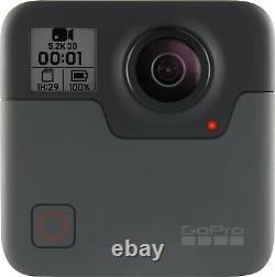 Nouveau Gopro Fusion 18 Mp Imperméable Caméra Caméscope 5.2k 360° Degree Action Cam