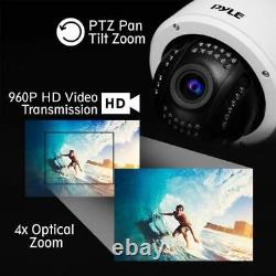 Pyle Pipcamhd47 Weatherproof Hd Hi-res Ip Camera Outdoor Wifi Security Cam