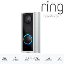 Ring Door View Cam Door Peephole Camera Hd Vidéo Two-way Talk Cam Bnib