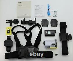 Sony Action Cam Hdr-as30v Camcorder Hd Wifi Caméra Vidéo Numérique Haute Définition