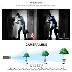 USA 1080p Hd Ip Caméra Cctv Étanche Extérieure Ptz De Sécurité Filaire Ir Cam Network